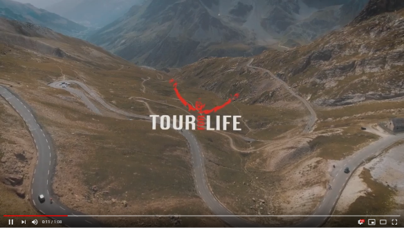 Tour for Life 2018 video